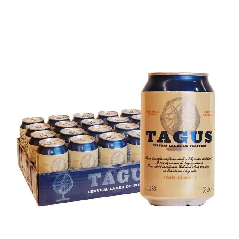 泰谷(TAGUS)啤酒 330ml*24听