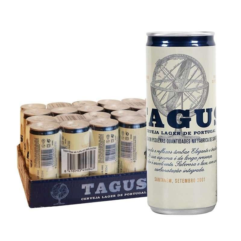 泰谷(TAGUS)啤酒 250ml*24听