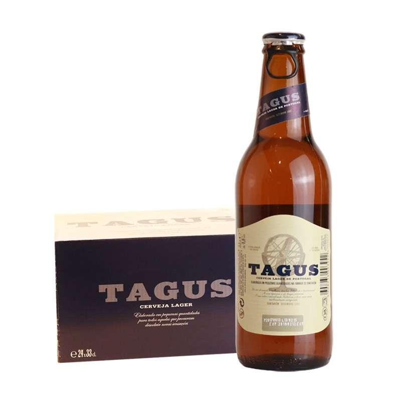 泰谷(TAGUS)啤酒 330ml*24瓶