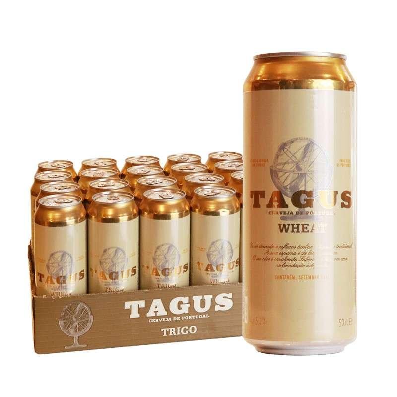 泰谷(TAGUS)小麦白啤酒 500ml*24听