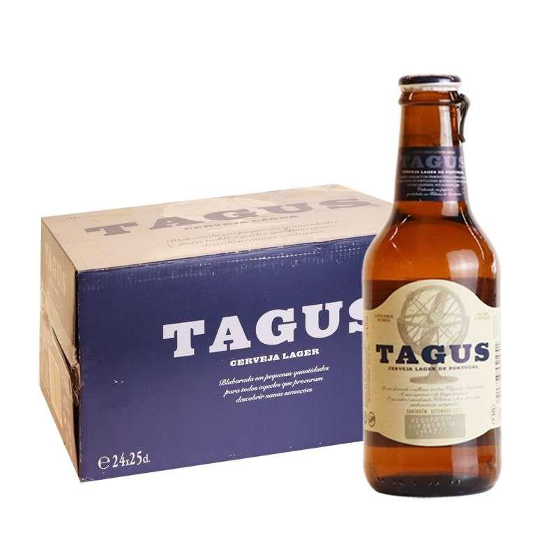 泰谷(TAGUS)啤酒 250ml*24瓶