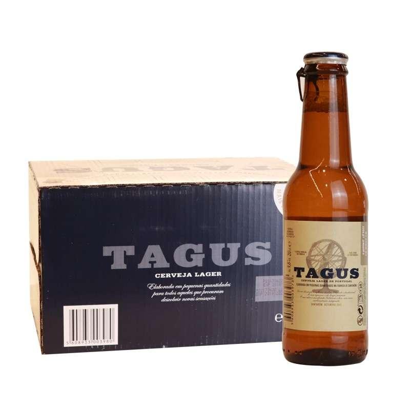 泰谷(TAGUS)啤酒200ml*24瓶