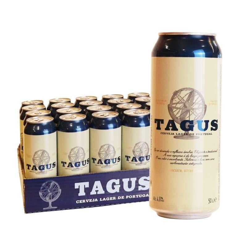 泰谷(TAGUS)啤酒 500ml*24听