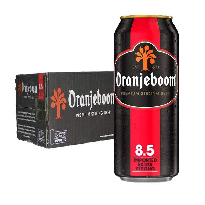 橙色炸弹8.5度烈性啤酒 500ml*24听