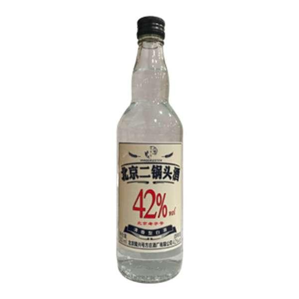 北京二锅头42度白酒500ml