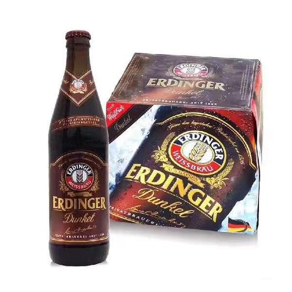爱丁戈/艾丁格黑啤酒 500ml*12瓶