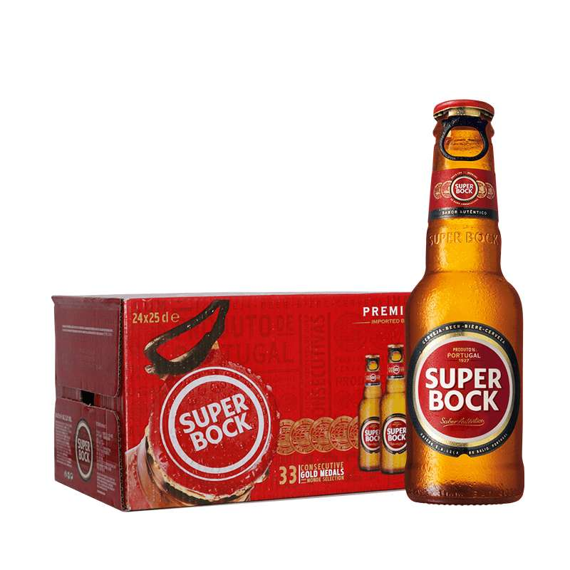 波克SuperBock啤酒 200ml*24瓶