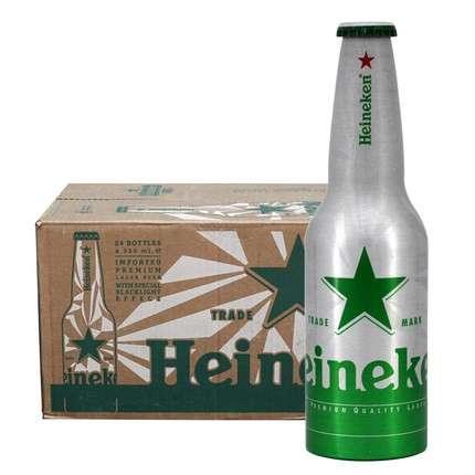 喜力铝瓶 330ml*24瓶