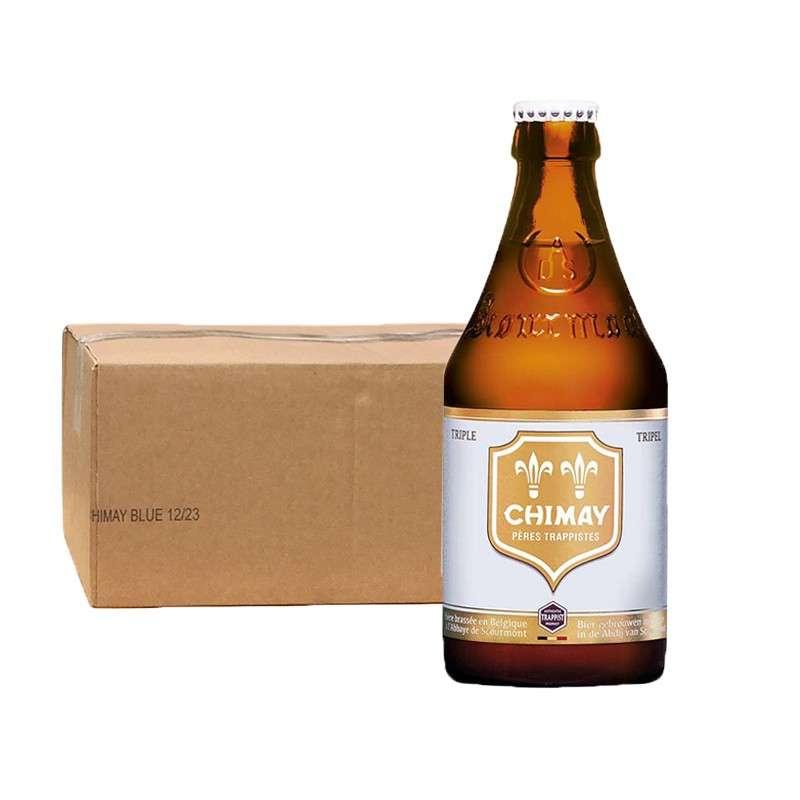 智美白帽啤酒330ml*24瓶