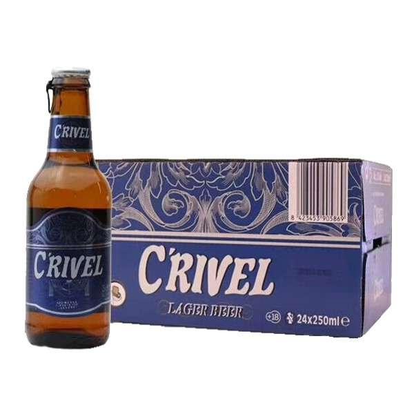 希罗(蓝标)啤酒 250ml*24瓶
