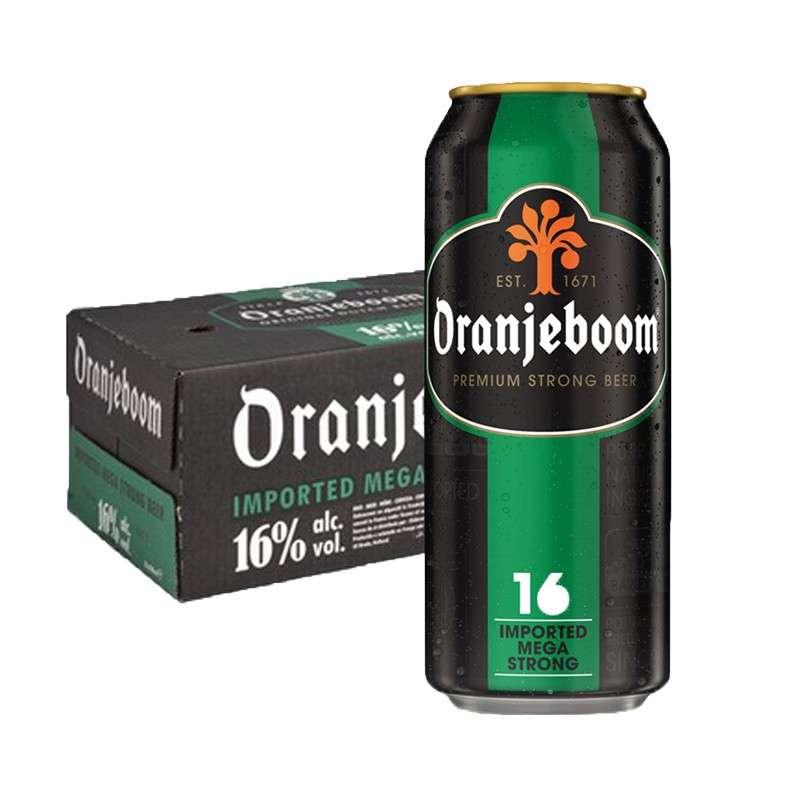 橙色炸弹16度烈性啤酒 500ml*24听