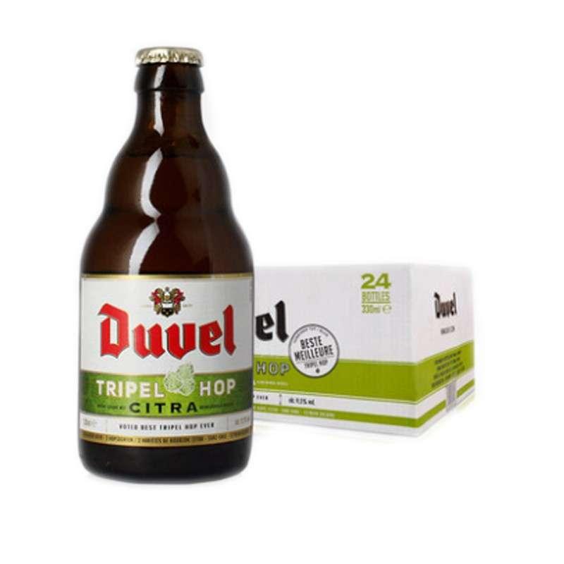 督威三花啤酒330ml*24瓶