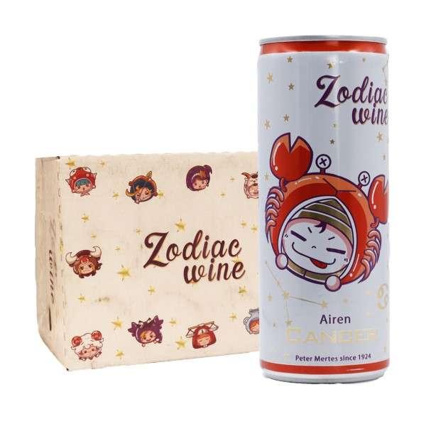 酌雅(巨蟹座)干白葡萄酒250ml*12听