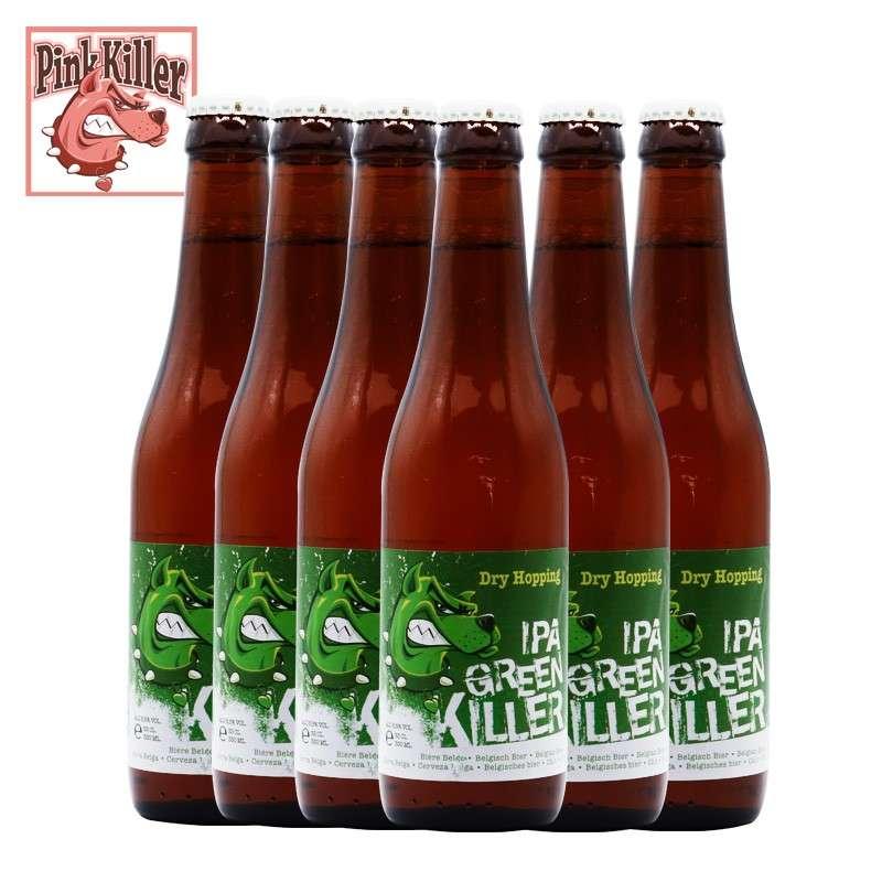 绿色杀手狗IPA啤酒 330ml*24瓶