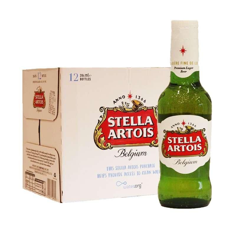 时代啤酒284ml*24瓶