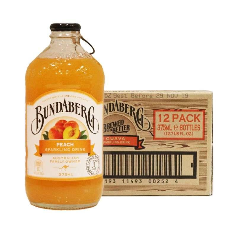 宾得宝含气蜜桃汁饮料375ml*12瓶