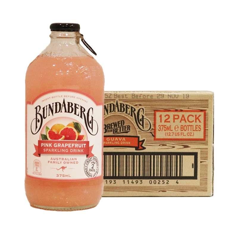 宾得宝含气粉红葡萄柚汁饮料375ml*12瓶