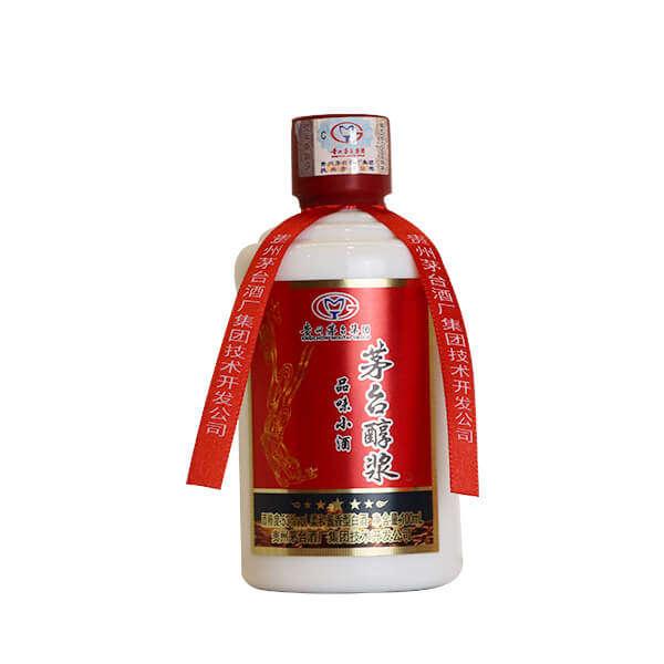 贵州茅台醇桨53度柔和酱香型白酒100ml*24瓶