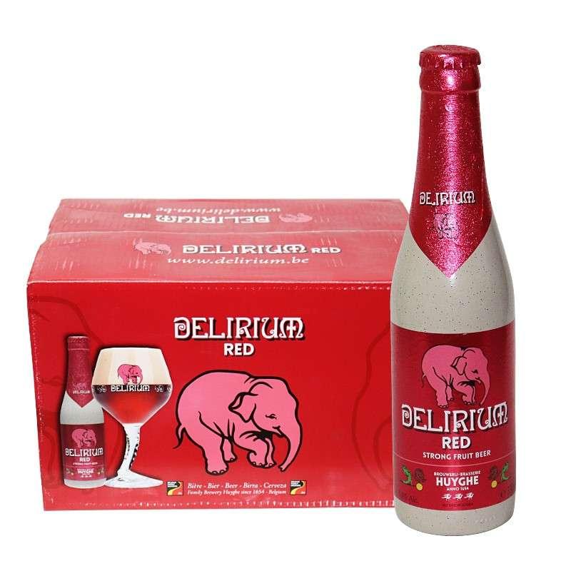 浅象给劲樱桃啤酒 330ml*24瓶
