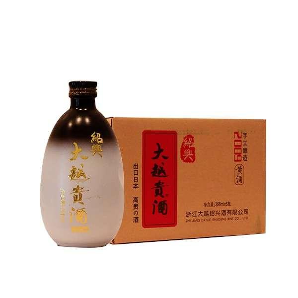绍兴大越贵酒黄酒368ml*6瓶
